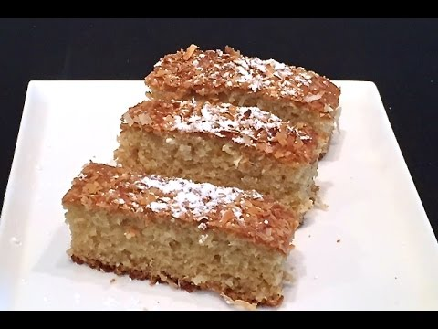 Video How to make Easy Coconut Cake by Magdi
