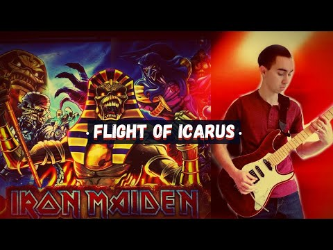 Iron Maiden - Flight of Icarus Full Guitar Cover (LTD Elite ST-1)