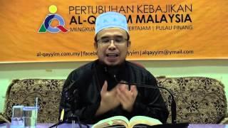 04-07-2014 Dr.Asri Zainul Abidin: Tazkiyatun Nafs (Penyucian Jiwa)