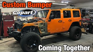 Rebuilding a Wrecked 2013 Jeep Wrangler Jk From Copart Part 10
