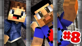 BUILDING OUR CELL! - Minecraft PRISONS #8