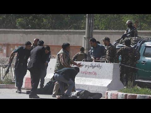 Θρήνος στη Καμπούλ μετά την διπλή επίθεση