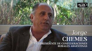 Jorge Chemes - Quién es Quién en Comunicándonos en Diario Agroempresario