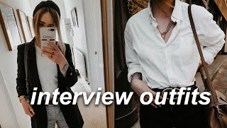 HOW TO STYLE: 3 GIRL BOSS INTERVIEW OUTFITS | Lucy Love