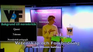 VoF 2017 – Frida Ohlson Sandahl, del 1