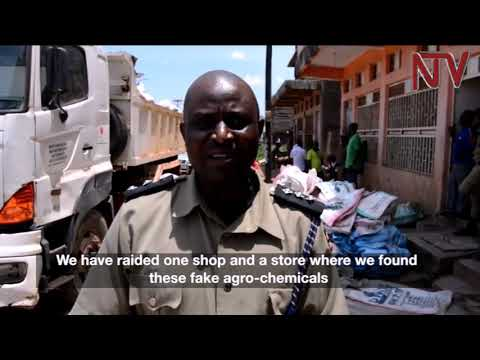 Police, agricultural officers impound fake fertilisers in Masaka