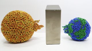 The Earth And The Moon & Sun Vs Monster Magnets   Magnet Satisfaction