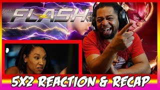 The Flash 5x2 Reaction & Recap Show
