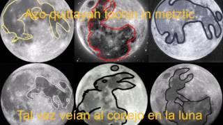 """Lenguas Indígenas Nahuatl - Español """"El conejo en la Luna"""""""
