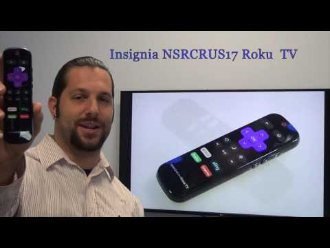 Buy INSIGNIA NS-RCRUS-17 NSRCRUS17 ROKU -06-518W21-BY03X TV