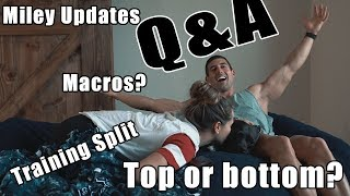 Your Questions Answered - Top or Bottom, Macros, Training, Miley, and More