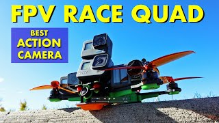 The Best BIG Action Cameras for FPV RACE QUADS / DRONES - GoPro 8, 7, 6 & DJI OSMO ACTION