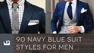 90 Navy Blue Suit Styles For Men - Male Fashion