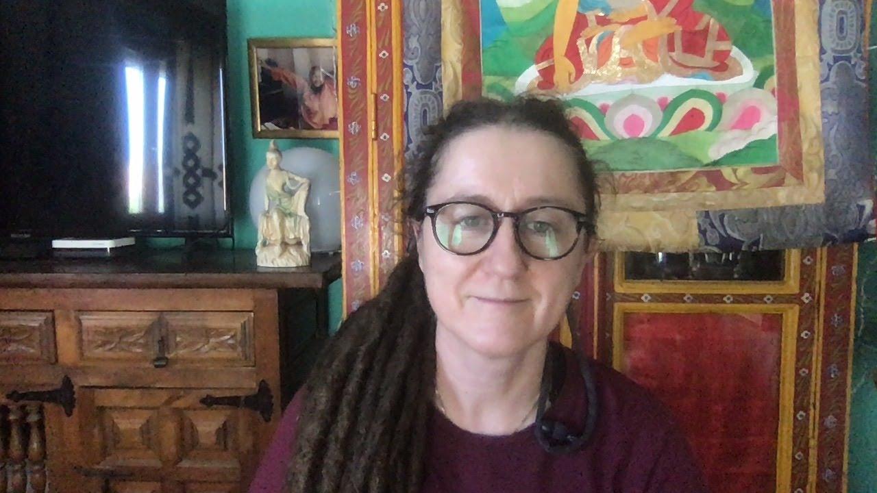 Lama Gangchen Tantric Self-Healing 2- Commentary by Lama Caroline - part 68 (EN)  Ratnasambhava