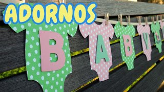 40 Ideas Adornos Para Decorar Un Baby Shower *Niño* HD