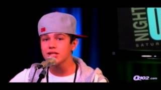 """Mario - """" Let Me Love You """" ( Cover by Austin Mahone ) @ Q102"""
