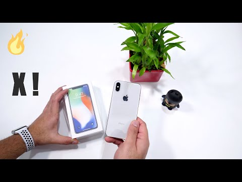 Apple iPhone X Retail Unboxing