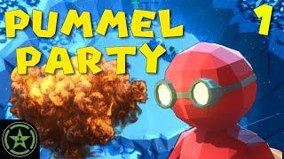 ROCKET MEN - Pummel Party (Part 1) | Let's Play