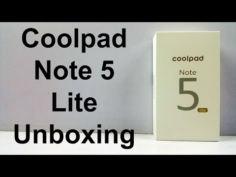Coolpad Note 5 Lite Unboxing & Quick Hands on Review - First look | Nothing Wired