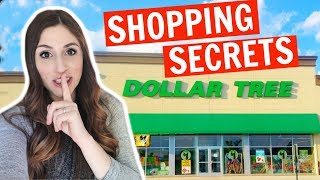 Dollar Tree Shopping Secrets You Should Know