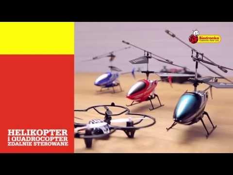 Biedronka prezentuje: Helikopter i quadrocopter