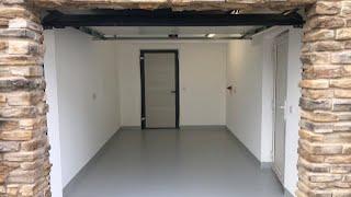 2K-Purolid: Werkstattboden beschichten, DIY Garagenboden