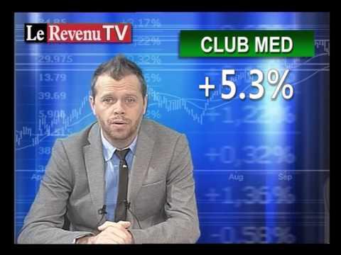 Point Bourse du 30 novembre - CAC40  Dow jones - Le RevenuTV