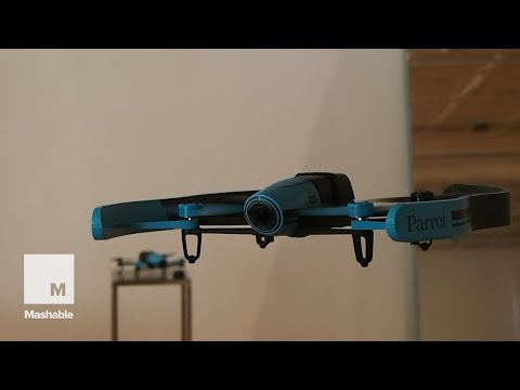 Hands-On with Parrot's Bebop Drone!