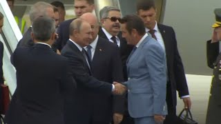Путин прибыл в Анкару на саммит России, Турции и Ирана по Сирии
