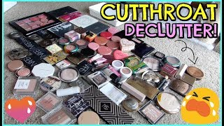 MAKEUP DECLUTTER 2018 | Blushes, Highlighters, & Bronzers