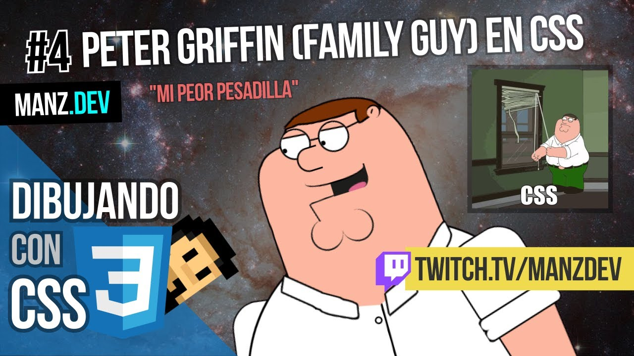 Dibujando a Peter Griffin (Family Guy) con CSS