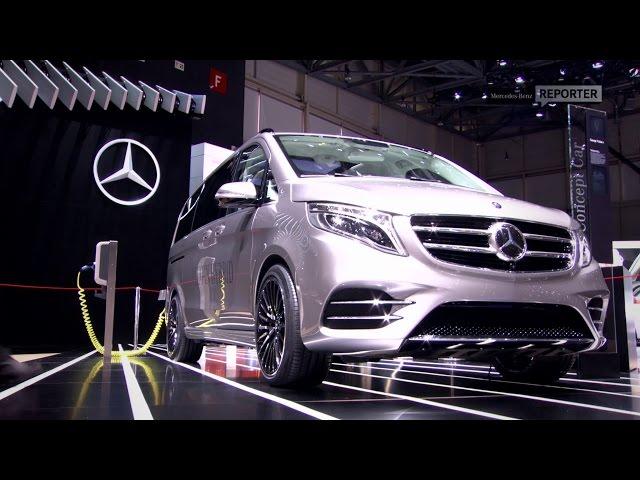 The V-Class Concept V-ision e - Mercedes-Benz original