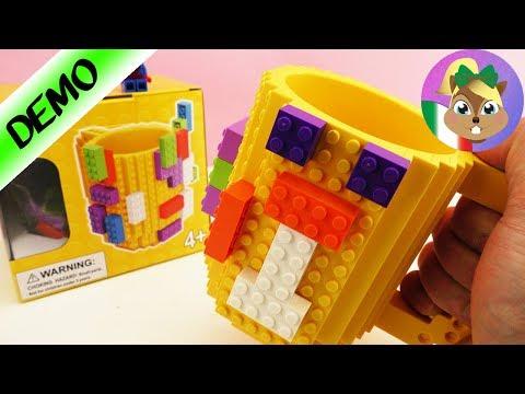 TAZZA LEGO fantastica-test-Brick mug tazza divertente - gioca con me