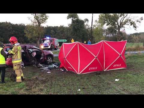 Wideo1: Śmiertelny wypadek w Siedmiorogowie