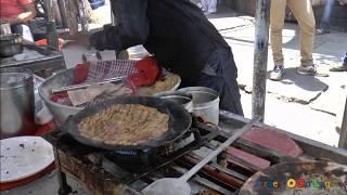 Loni Dhapate | street food in Pune | maharastrian dhapate |street food in india