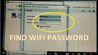how to find WiFi password on windows 10 | See WiFi password in windows 10