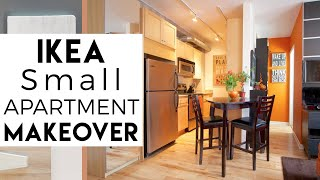 Tiny Apartment | IKEA, Small Space Decorating | Interior Decorating | Eps.3, Season 2