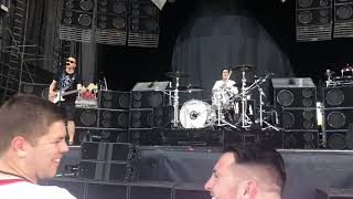 Blink 182 Blame It On My Youth Soundcheck Bangor Maine July 13, 2019