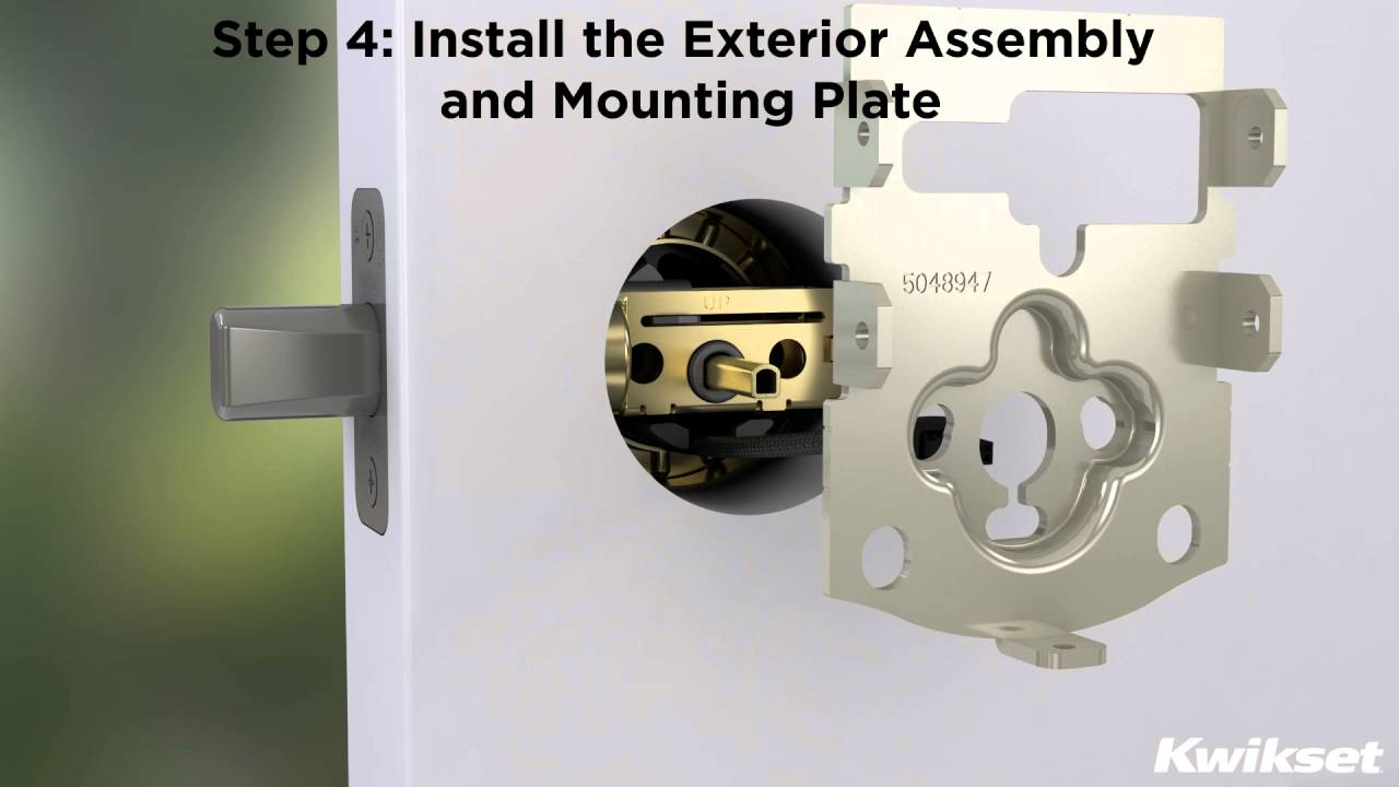 SmartCode 913 Electronic Keypad Deadbolt Installation Video