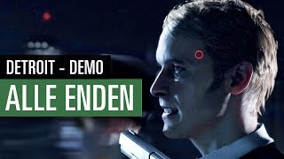 Detroit: Become Human - Alle Enden der Demo (Spoiler!)