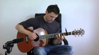 Daft Punk   Get Lucky   Fingerstyle Guitar  Acoustic Interpretation