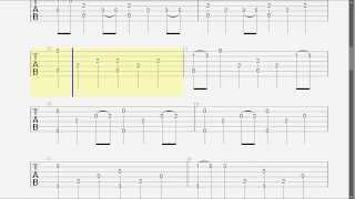 Guitar Tab - Game Of Thrones Theme - Fingerstyle - Slow