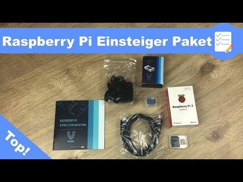 Raspberry Pi 3 B Einsteiger Komplett Paket inkl. Einrichtung (vorinstallierter SD Karte) - deutsch