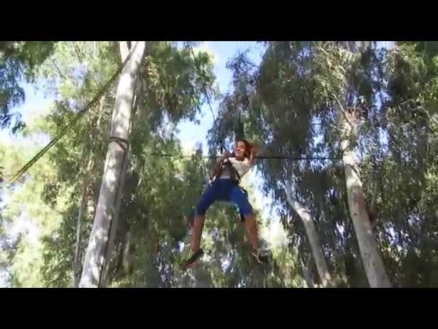 Youtube Videoבת מצווה אתגרית עם ערוצים בטבע