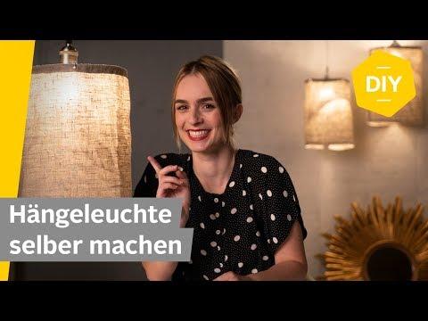 DIY: Hängelampe aus Stoff selber machen | Roombeez – powered by OTTO