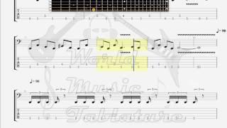 Evergrey   The Corey Curse BASS GUITAR TAB