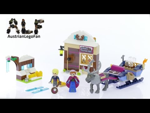Конструктор Bl «Анна и Кристоф: Прогулка на санях» 10666 (Disney Princess 41066) 180 деталей