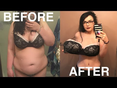 MY 130LBS WEIGHT LOSS TRANSFORMATION  (Before & After)