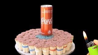 EXPERIMENT 10000 Matches vs Coca Cola