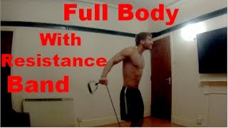 Workout With Resistance Band - Full/Total Body Workout by Workout Variety